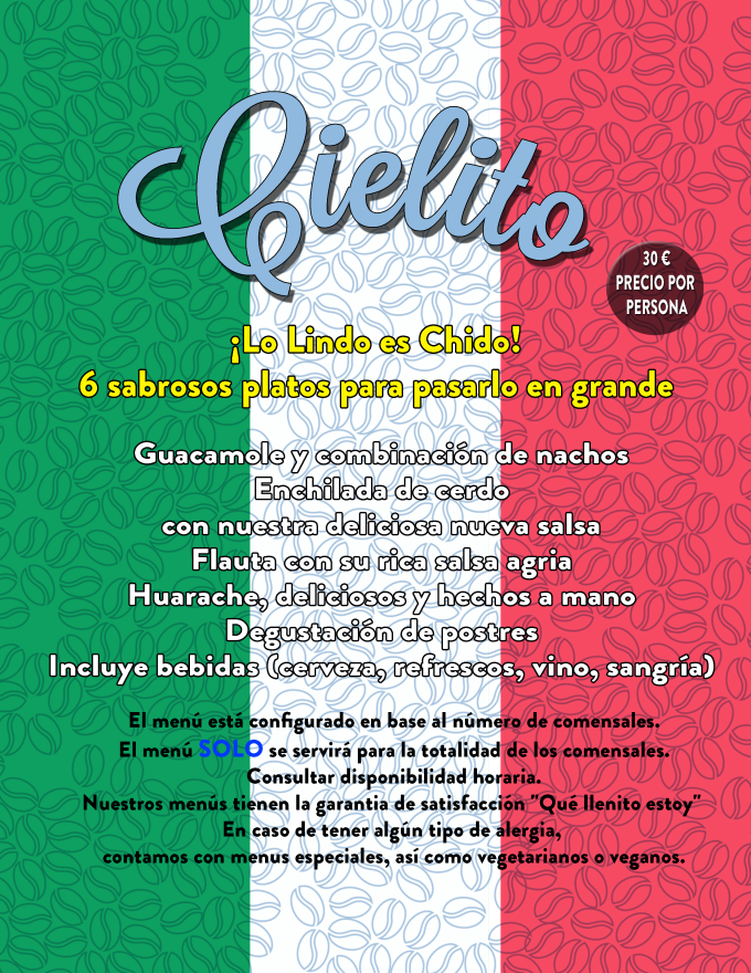 menu patrio